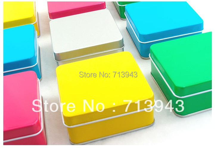Aliexpress Com Buy Size 75x75x32mm Colorful Square Gift