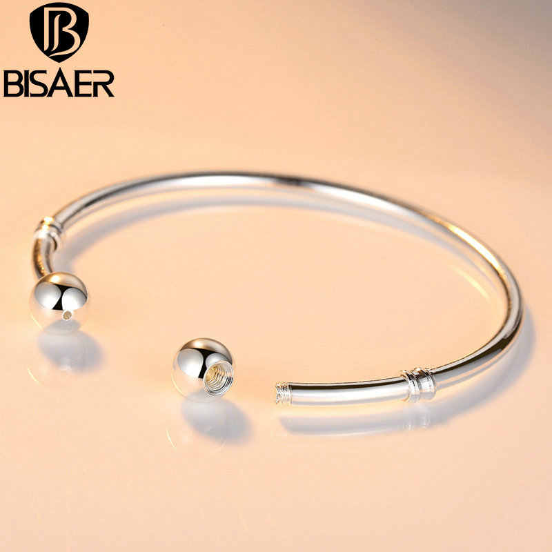 Silver Color Chain Cuff Bracelet & Bangle Pulseras Lobster Fit European Charm Bracelet for Women Compatible with Fine Jewelry