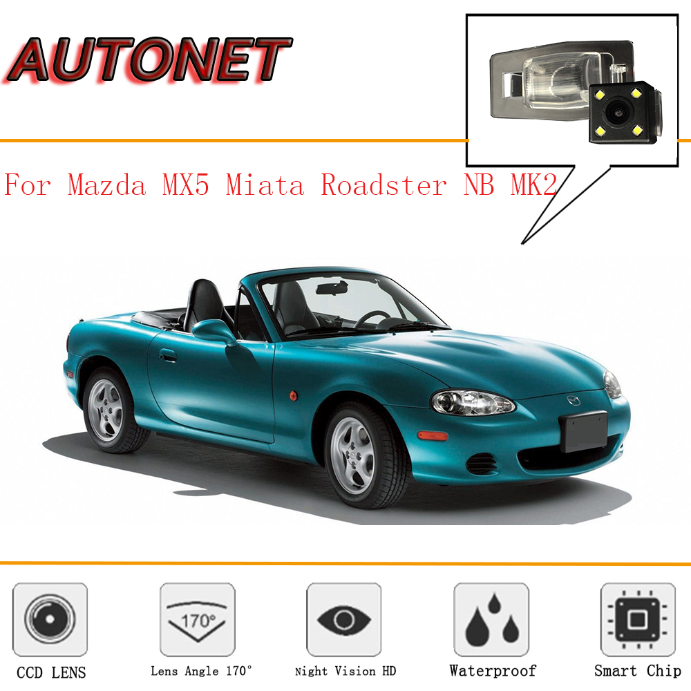 AUTONET Camera For Mazda MX5 Miata Roadster NB MK2 1998~2005/CCD/Night Vision/Reverse Camera/Backup Camera/license Plate Camera