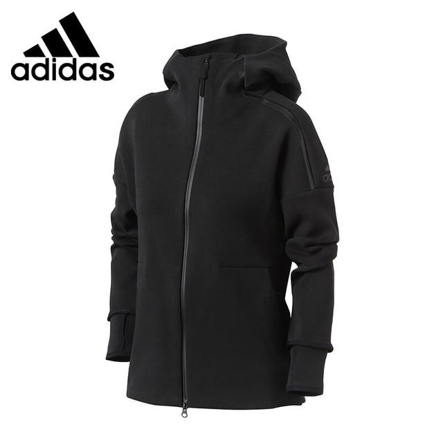 cba32826116 Nova Chegada Original 2018 Adidas ZNE 2 MOLETOM COM CAPUZ jaqueta Com Capuz  Sportswear das Mulheres