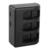 2 unids 1220 mah li-ion cargador de batería + 3 ranura usb ahdbt 501 para gopro hero 5