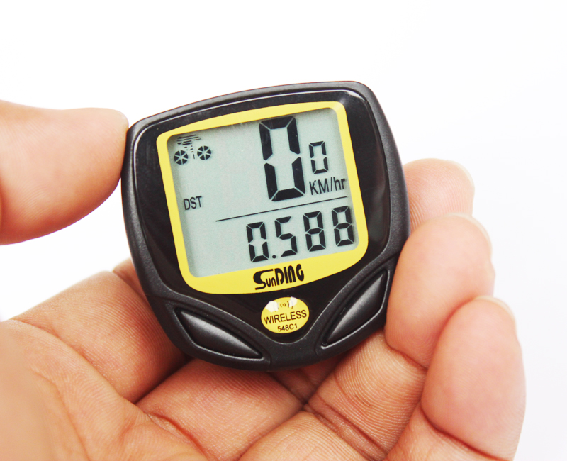 цены на Wireless Cycling Computer Waterproof Bicycle Odometer Speedometer With LCD Display Bike Speedometer Cycling Bicycle StopwatchWir  в интернет-магазинах