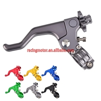 22MM 7 8 CNC Short Stunt Clutch Lever Assembly For Suzuki RM85 RM250 RMZ250 RMZ450 RMX450Z