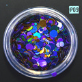 STZ 1g Mixed Glitters Laser Nail Glitter Nail Sequins Shiny Nail Paillettes Hologram Nail Art Glitter 1mm 2mm 3mm P9