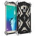 Para samsung galaxy s7 edge case serie thor iron man metal carcasa de aluminio cubierta de lujo cajas del teléfono de servicio pesado para samsung s7