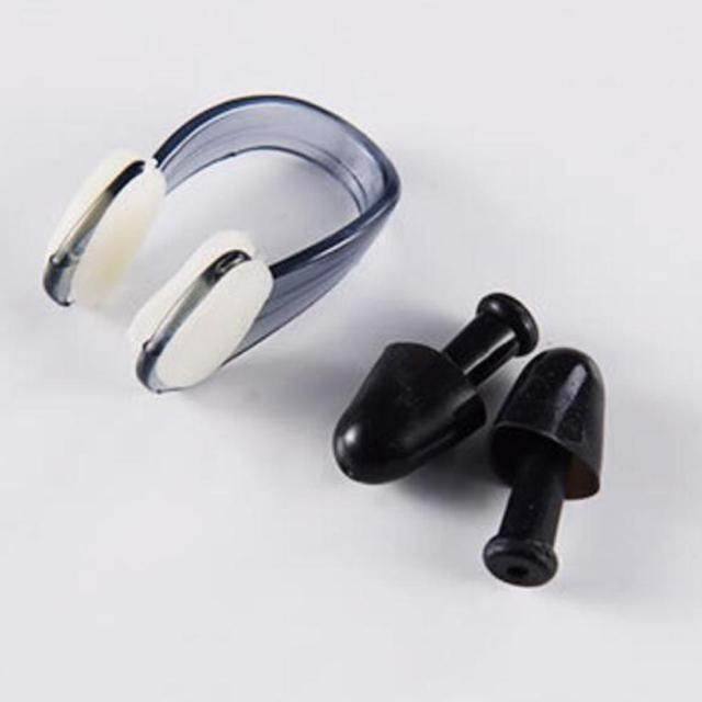 Waterproof Swimming Ear Plugs and Nose Clip