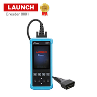 Launch official store code creader 8001 full obd2 function scanner analyzers airbag oil rest auto diagnostic tool for BMW/BENZ