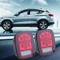 Universal 2pcs LED 12V Truck Cars Stop Turn Warning Tail Light Waterproof Vehicles Brake Stop Reverse