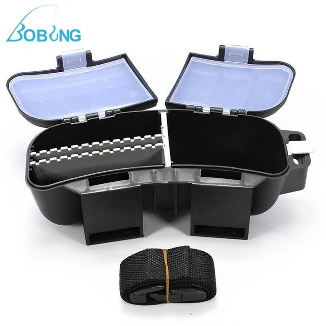 Bobing 26x95x9 Cm Lichtgewicht Draagbare Tackle Box Tas Opslag Voor