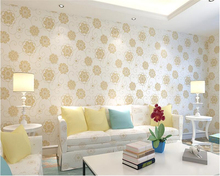 beibehang wall paper Non-woven 3d wallpaper 3d stereo living room bedroom warm Korean pastoral wallpaper TV wall papel de parede beibehang background wallpaper non woven gliter damask wall paper for living room bedroom papel de parede tapete contact paper