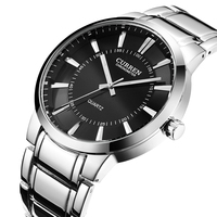 Curren 8001B Watches Quart Watch Design Sport Steel Clock Top Quality Military Men Male Luxury Metal