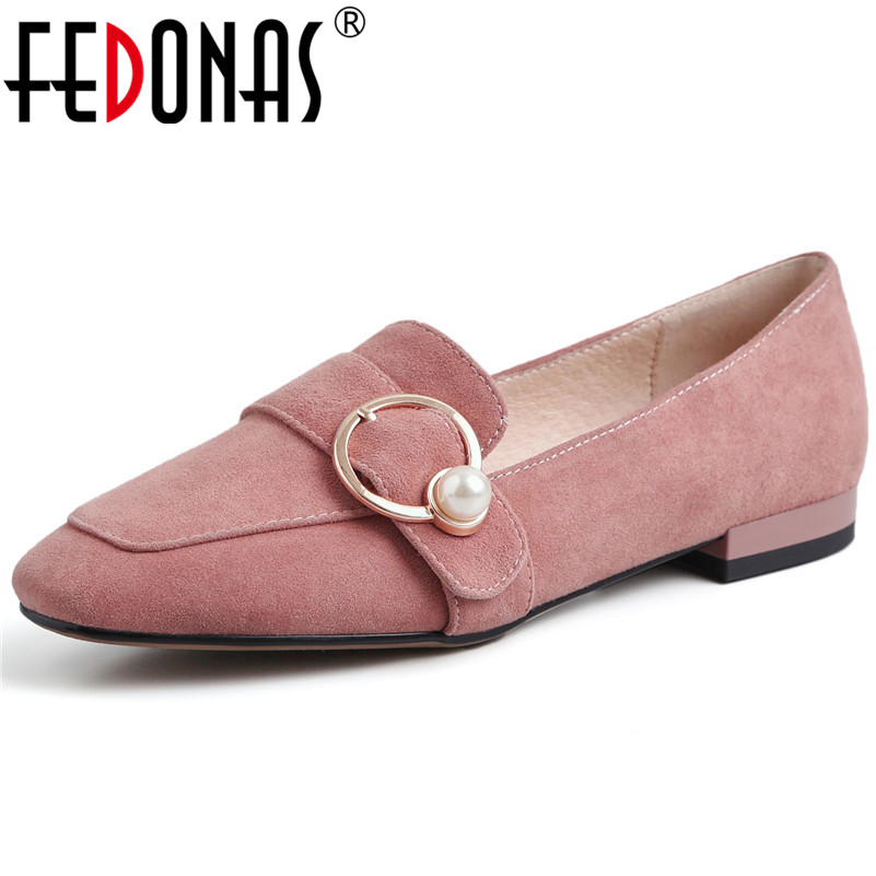 FEDONAS Classic Design Women Suede Leather High Heels Pumps Suede Leather Slip On New Spring Summer Shoes Woman Ladies PumpsFEDONAS Classic Design Women Suede Leather High Heels Pumps Suede Leather Slip On New Spring Summer Shoes Woman Ladies Pumps