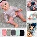 2 Pieces/Pair Algodão da Segurança Do Bebê Dos Desenhos Animados Joelheiras Joelhos Crianças Curto Kneepad Crawling Protector Crianças Aquecedores Do Pé Do Bebê