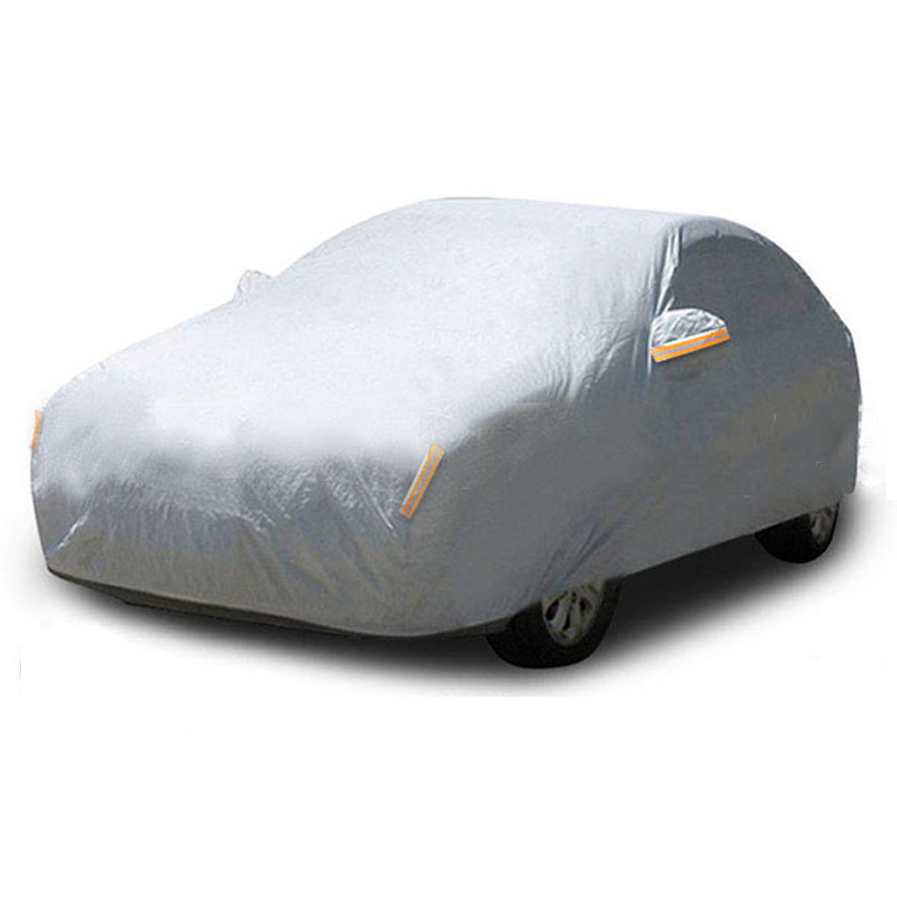 1PC Waterproof Full Car Cover Sun UV Snow Dust Rain Resistant Universal Weatherproof Hail Vehicle Outdoor Sun Protection Covers cawanerl full car cover waterproof all weather sun rain snow protection anti uv dust proof outdoor suv auto covers universal