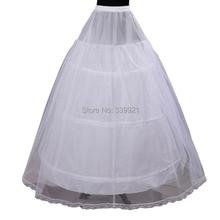 Cheap Price Hot Sale 2 layer 3 Hoop Elastic Waist Bridal Gown Drawstring Dress Petticoat Underskirt Crinoline Wedding Dress