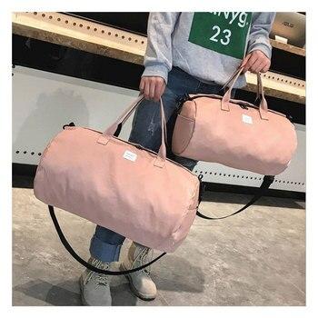 ee64bb8e0 ACE Amor De moda De Mujeres De viaje Bolsa De gran capacidad De la lona  Bolsa De viaje para hombres bolsos Bolsa De Viagem