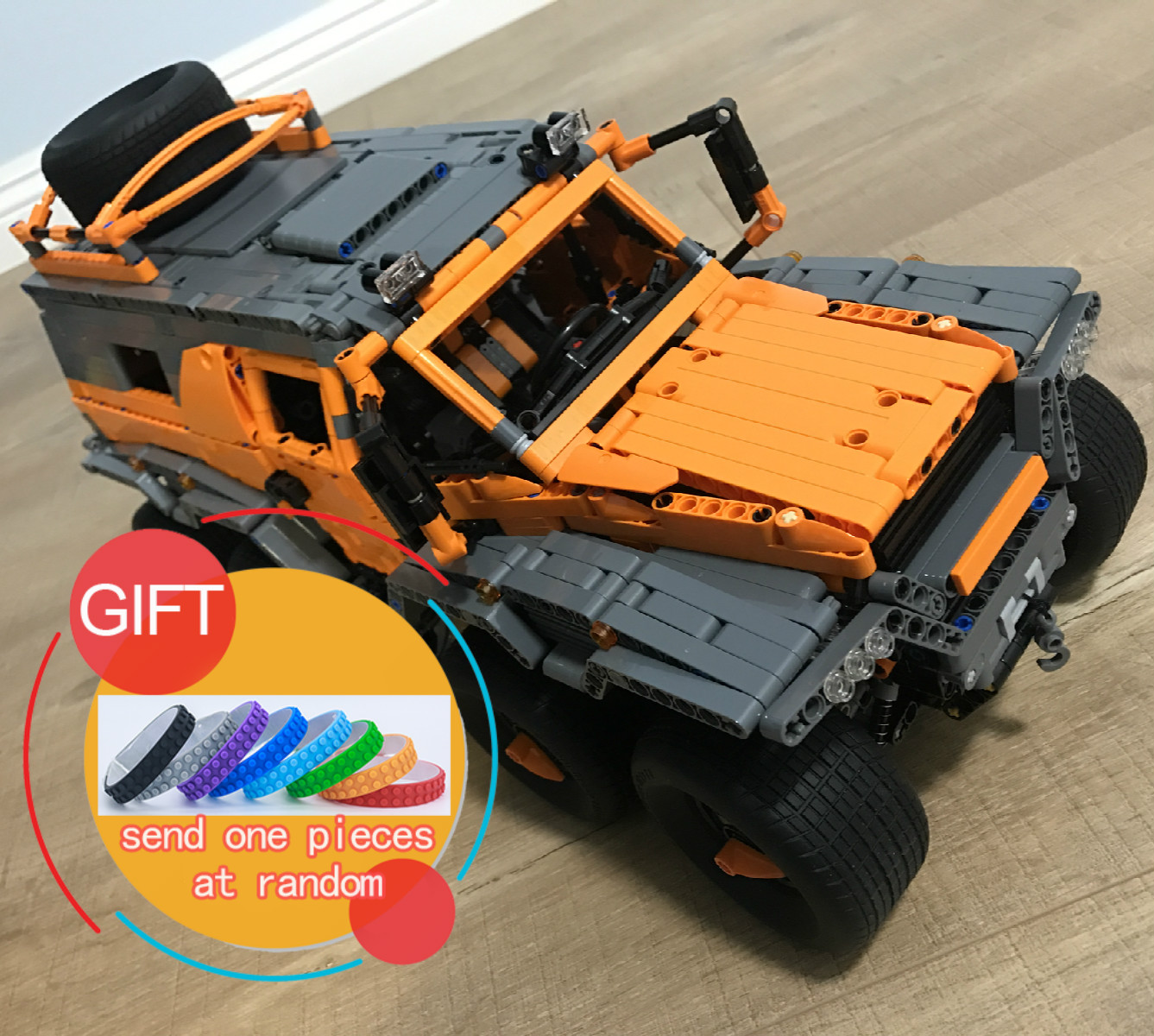 23011B 2816pcs Technic Series Off-road vehicle Model Building Kits Block Educational Bricks Compatible 5360 Toys Gift lepin lepin 22001 pirate ship imperial warships model building block briks toys gift 1717pcs compatible legoed 10210