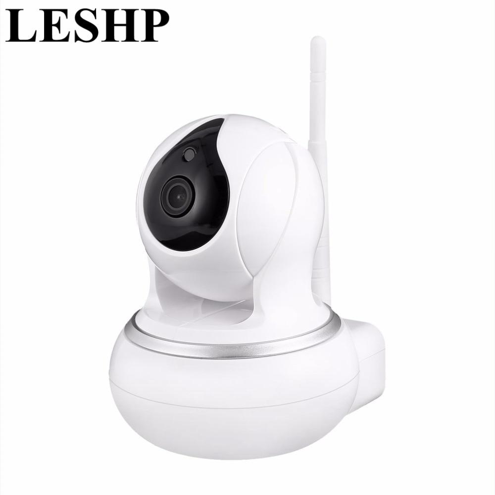 LESHP Wi-Fi 720P HD Wireless Smart WiFi Camera WI-FI IR-CUT Audio Video Surveillance CCTV Camera Smart Home Baby Monitor wi fi адаптер sat integral 1210 hd в киеве