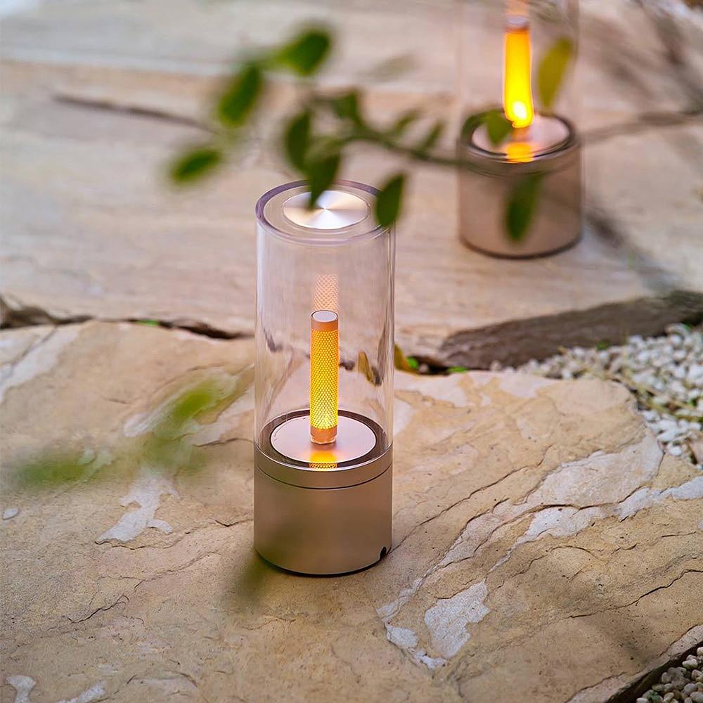 Original Yeelight Candela LED Smart Candle Light Atmosphere Lamp Rotate  Dimming Bedroom Bedside Night Light Mi