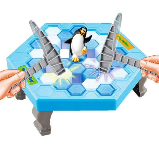 New kid toy Intellectual game Family Puzzle toys Game Board Ice Breaking Save The Penguin Great Family Fun Game Children GIFT