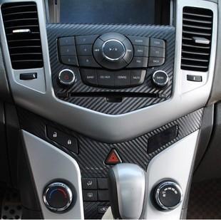 Voiture Center Console autocollant cas pour Chevrolet Cruze accessoires car styling