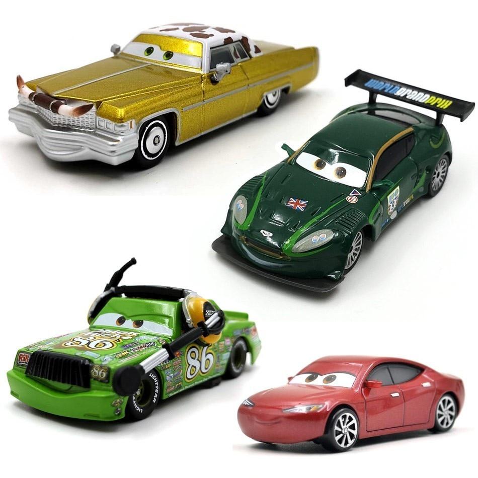 2019 New 35 Style Disney Pixar Cars 3 Lightning McQueen Jackson Storm Mater Diecast Metal Boy Toy Educational Toys For Children