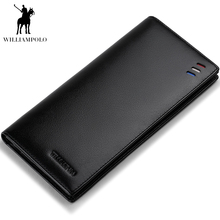 WILLIAMPOLO Wallet For Men In Soft Leather Id Credit Card Ho