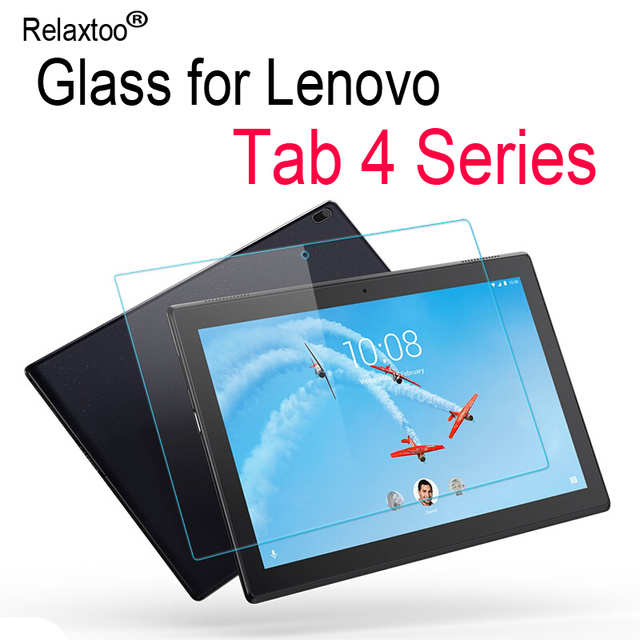 US $4 05 15% OFF For Lenovo tab 4 glass 10 8 TB Plus x304 8504 8704 x704  screen protector 9h protective film protect x tb 304 704 tempered glas-in