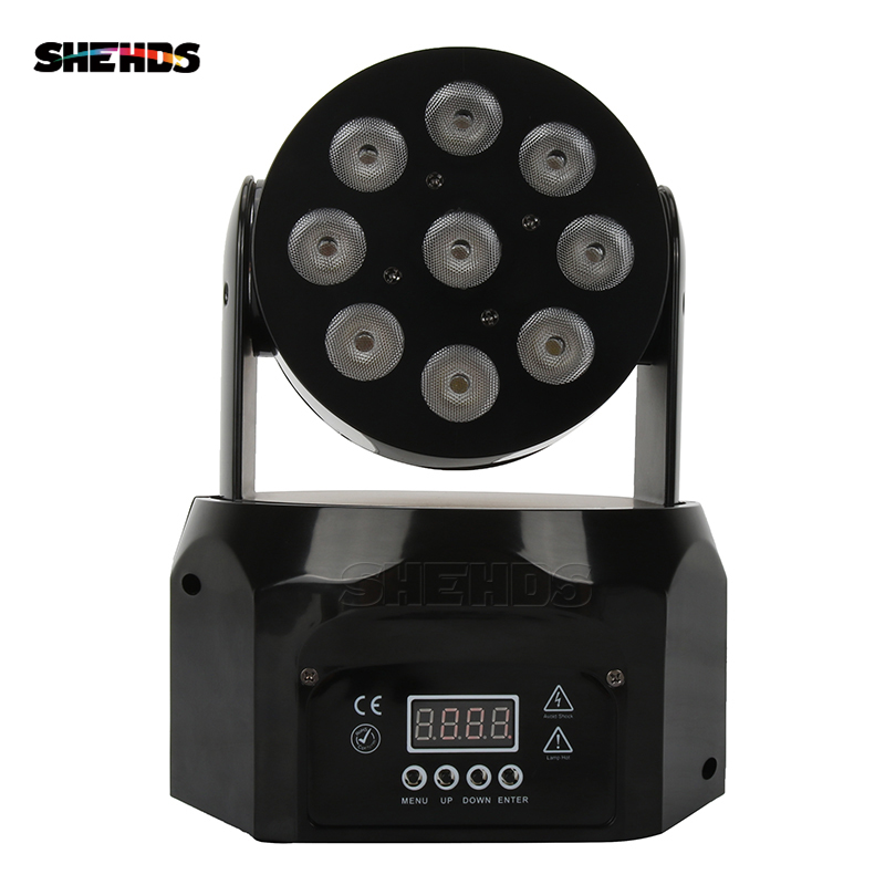 2PCS/LOT LED Wash 9x8W RGBW 4IN1 Moving Head DMX512 Stage Effect Lighting Good For Event Disco DJ Parties Nightclub And Bar2PCS/LOT LED Wash 9x8W RGBW 4IN1 Moving Head DMX512 Stage Effect Lighting Good For Event Disco DJ Parties Nightclub And Bar