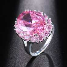 Hermosa идеальный Блестящий розовый кунцит сладкая любовь подарок