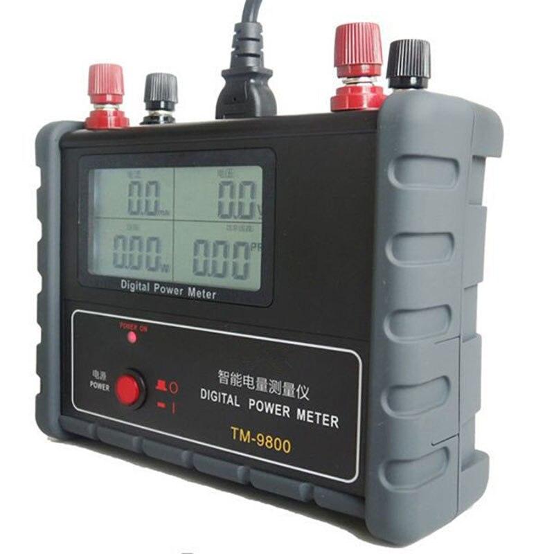 Original de Alto Medidor de Energia Elétrica de Alta Instrumento de Medição de Energia Desempenho Inteligente Precisão Parâmetro Digital
