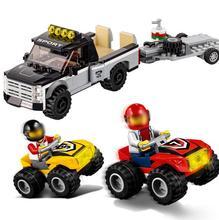 Lepin 60148 Racing Car Building Blocks City Series All Terrain Racing Brick Toy DIY Educational Christmas Gifts 02033