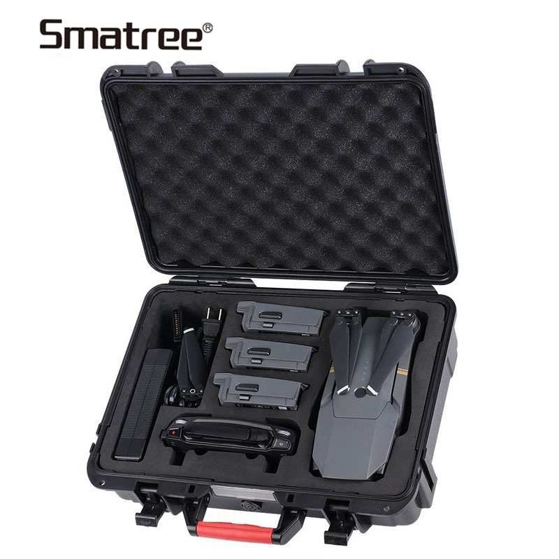 Smatree Compact Drone Storage Bag Suitcase Hardshell Carrying Case for DJI Mavic Pro, Waterproof Carrying Box for DIJ Mavic Pro
