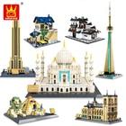 Wange 5210 Architecture series the Notre-Dame de Paris model Building Blocks set classic landmark education Toys for children