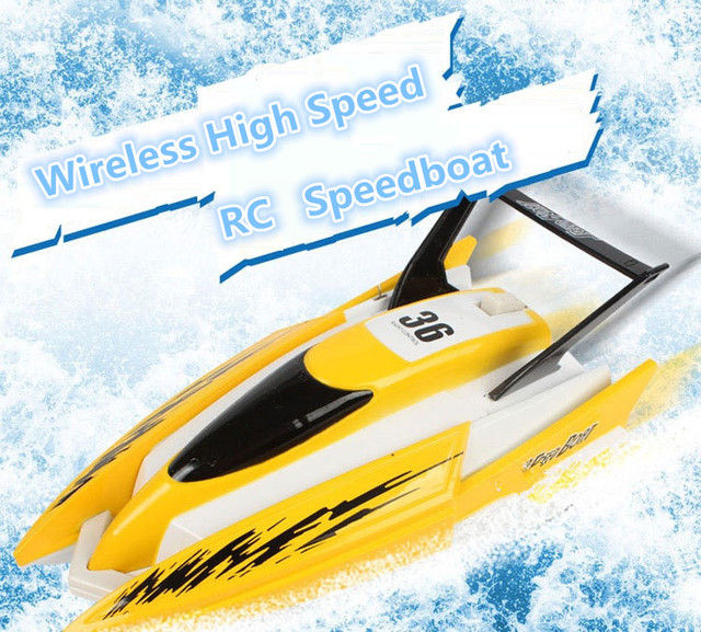 Us 26 1 13 Off Hot Sell Electric Reomote Control Boat Toy C204 20cm Children Bathroom Amusement Voyage Mini Rc Speedboat Boat Model Kids Toy In Rc