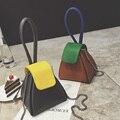 Bucket Mini Korean Style Mobile Phone Bag Chain Mini Shoulder Bag 2016 Women Messenger Bags