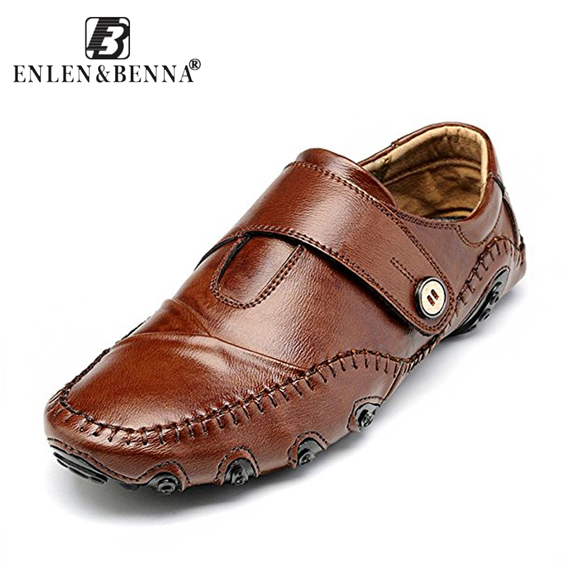 177b0b6f8200 Men s Casual Shoes British Style Moccasins Genuine Leather Flats Zapatos  Hombre Loafers Footwear Men Winter Sping Chaussures