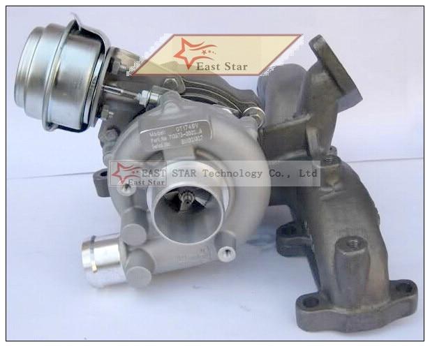 GT1749V 713673-5006S 713673 Turbo Turbocharger For AUDI A3 Galaxy Golf Sharan 1.9L TDI 2000-2006 Engine PD UI AUY AJM ASV 115HP turbo chra gt1749v 713673 454232 for ford audi seat skoda vw 1 9 tdi engine auy ajm asv atd afn avg alh axr bsw bew