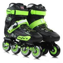 Profesional de Patinaje Adultos Zapatos de Patinaje sobre ruedas de Alta Calidad Estilo Libre de Patinaje Patins Patines De Hockey Sobre Hielo