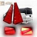 Красный СВЕТОДИОД Вождения Тормозная Стоп Хвост Противотуманные Фары для Toyota Noah/Voxy 2015 Сборка Автомобилей Стайлинг Авто Задний Бампер отражатели Света