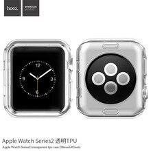 Оригинал НОСО Прозрачная Силиконовая ТПУ Защитный Чехол для Apple Watch Серии 2 42 мм и 38 мм(China (Mainland))