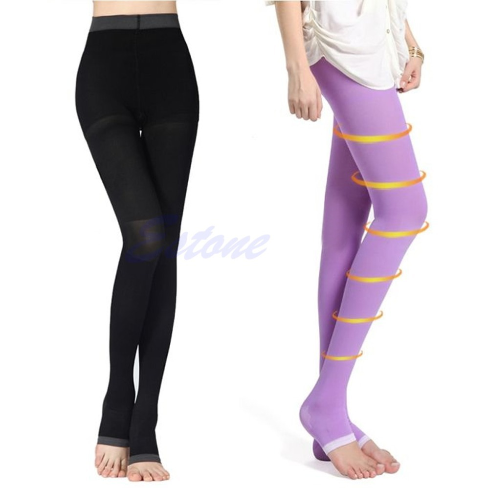 2017 Women Beauty Slim Sleeping Leg Shape Compression Burn Fat Thin Pantyhose Night Shaping Stovepipe Sleep Siamese Pants
