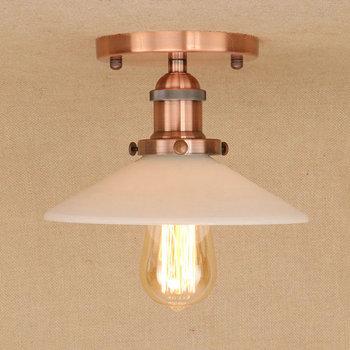 IWHD Verre Led Plafonniers Luminaires Salon Decken Leuchten Chambre Plafonniers Pour Cuisine Lampara De Techo
