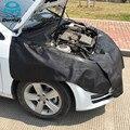 3 UNIDS Guardabarros Coche Cubre (1 UNID de 135x65 cm 2 UNIDS 45x115 cm) proteger La Pintura Magnética Ala Cubierta Fender Capo de Pintura Herramienta de Reparación de Automóviles