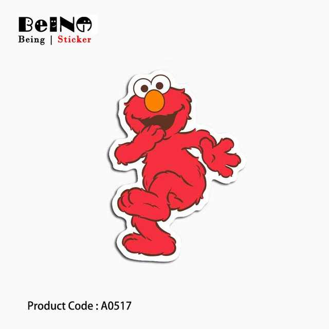 US $0 02 |Sesame Street sticker anime cartoon cute waterproof suitcase  laptop guitar luggage skateboard bicycle toy lovely A0094 stickers-in  Stickers