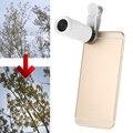 Lentes de telefoto 8x zoom lente da câmera do telefone telescópio lente do telefone com clipe para iphone 7 samsung lenovo acessório fotografia