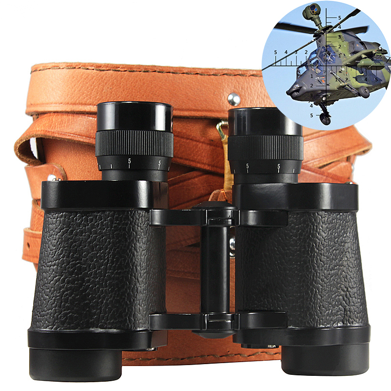 Powerful Military Binoculars 8X30 HD Telescope High Quality Long Range binocular with Leather Bag for Hunting