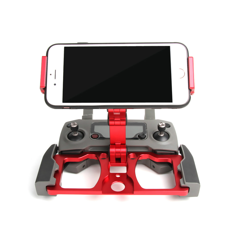CrystalSky Mobile Phone Pad Holder Aluminum Alloy Stand Monitor Support For DJI Controller For Mavic 2 / Mavic Pro / Air / Spark