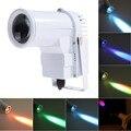 ZjRight NOVO 9 W LED RGB Luz Do Estágio Feixe de Luz LED Spot DJ Luzes de Casamento AC110v-240v Professional Para O Partido KTV Disco DJ luz