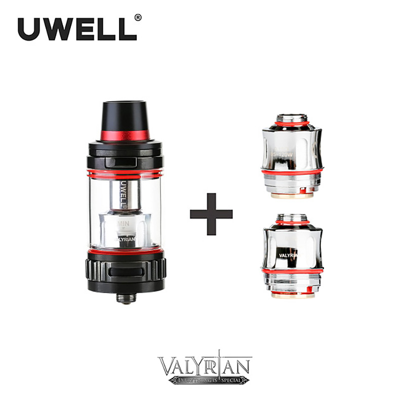 UWELL VALYRIAN Tank 2ml/5ml & Coil 0.15ohm One-button Flip Top Filling Method Leak Proof Design 5 Colors